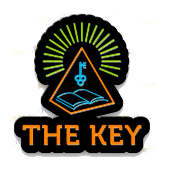 Official Key Bookstore Pin The Key Bookstore