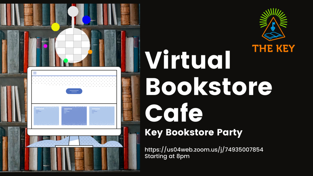 NEW! Virtual Events The Key Bookstore