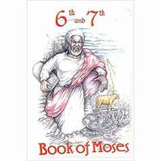 6th and 7th Books of Moses The Key Bookstore