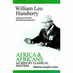 Africa & Africans As Seen by Classical Writers - Ed. Joseph E. Harris The Key Bookstore