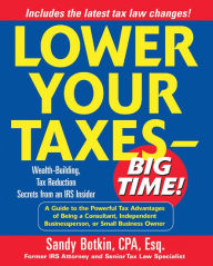 Lower Your Taxes - Big Time! The Key Bookstore