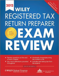 Wiley Registered Tax Return Preparer Exam Review 2012 The Key Bookstore