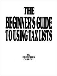 The Beginner's Guide To Using Tax Lists The Key Bookstore