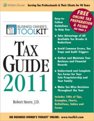 Toolkit Tax Guide 2011 The Key Bookstore