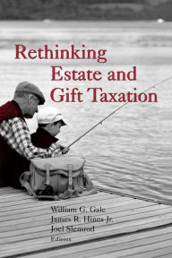 Rethinking Estate and Gift Taxation The Key Bookstore
