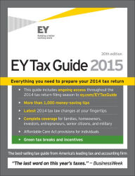 EY Tax Guide 2015 The Key Bookstore