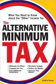 "Alternative Minimum Tax: What You Need to Know about the ""Other"" Income Tax The Key Bookstore"