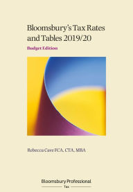Tax Rates and Tables 2019/20: Budget Edition The Key Bookstore