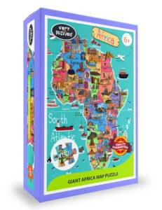 Africa Map Giant Jigsaw Puzzle The Key Bookstore