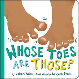 Whose Toes Are Those? The Key Bookstore