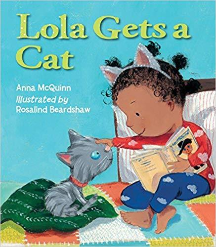 Lola Plants Gets A Cat (Lola REads) The Key Bookstore