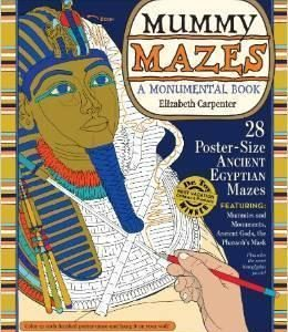 Mummy Mazes: A Monumental Book The Key Bookstore