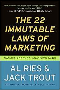 The 22 Immutable Laws of Marketing: Violate Them at Your Own Risk by Al Ries The Key Bookstore