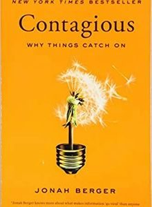 Contagious: Why Things Catch On by Jonah Berger The Key Bookstore