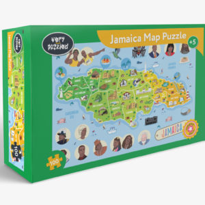 JAMAICA MAP JIGSAW PUZZLE The Key Bookstore