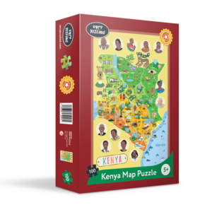 KENYA MAP PUZZLE The Key Bookstore
