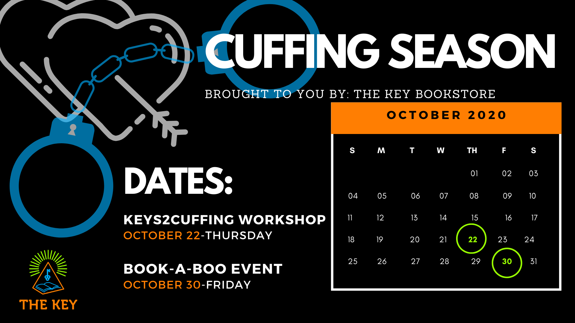 Keys2Cuffing Workshop The Key Bookstore